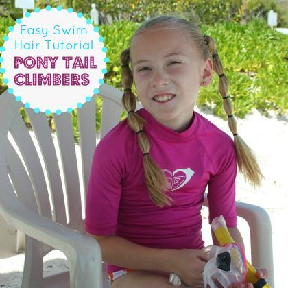 Easy Girls Hair Style Pony Tail Climbers Skip To My Lou Bloglovin