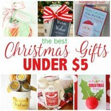 yep with a little planning you can give a clever and thoughtful christmas gift for under 5 give great gifts with these gift ideas