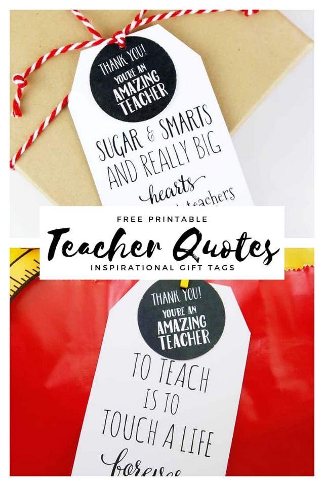 Free Printable Teacher Quote | Skip To My Lou | Bloglovin'