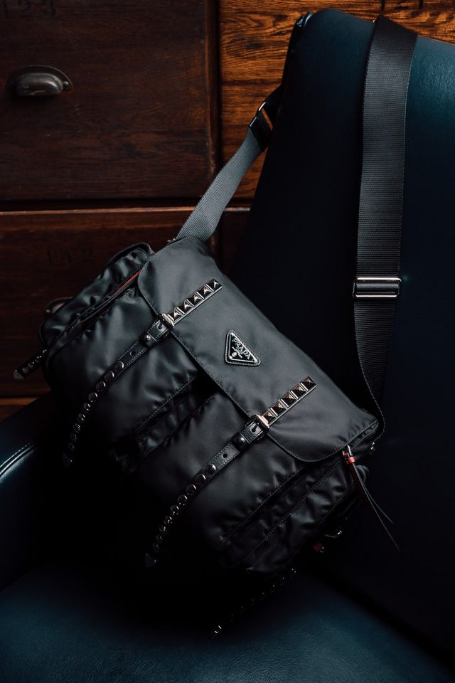 From a messenger nearly identical to my first Prada bag 59784606fb927