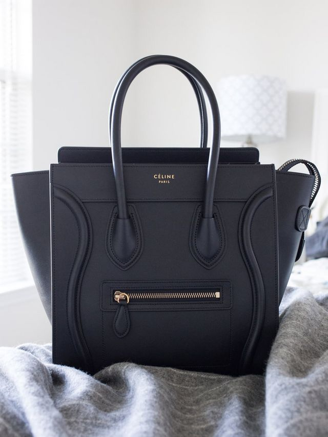413294ebd716 ... black Céline Luggage Tote in quick succession, justifying the latter by  telling myself I needed a camera bag that didn't look like the average  camera ...