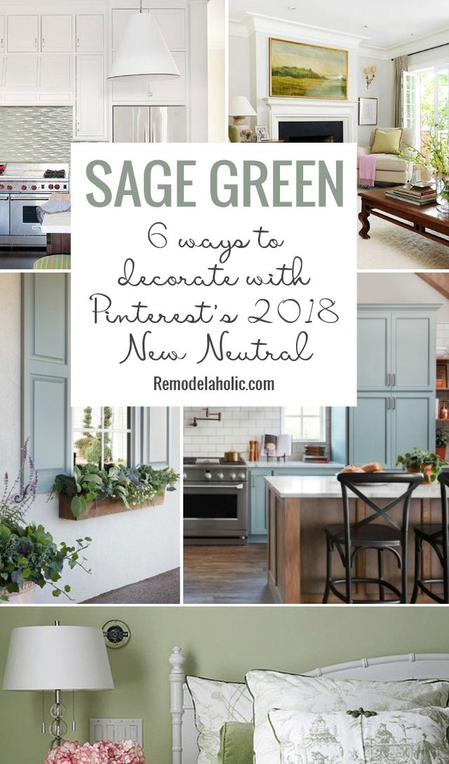 Not Only Is Sage A Soothing Earthy Hue But It Also Pairs Well With Many Diffe Home Decor Styles Whether You Gravitate Towards Farmhouse Chic Or Coastal