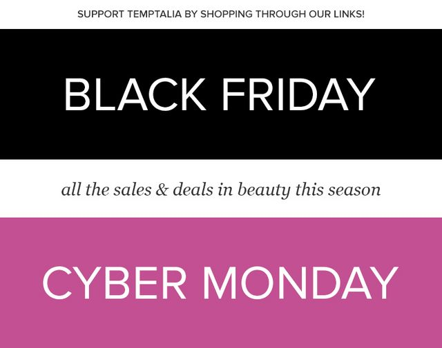 388c62e443 Black Friday   Cyber Monday Beauty Deals   Sales 2018