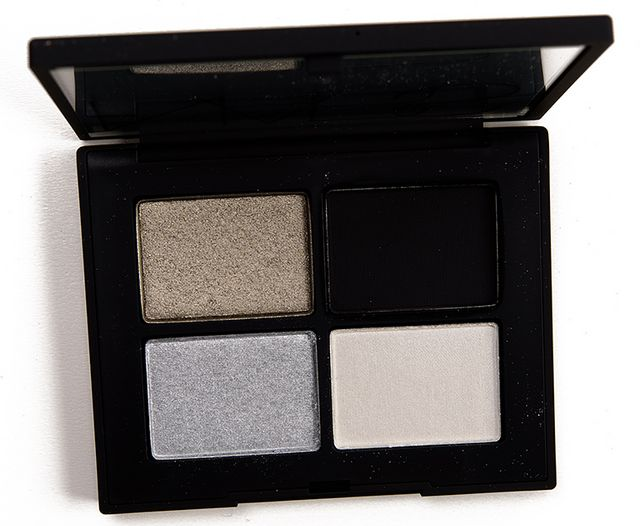 9d4bff1d405 NARS Silver Screen Eyeshadow Quad Review & Swatches | Temptalia ...