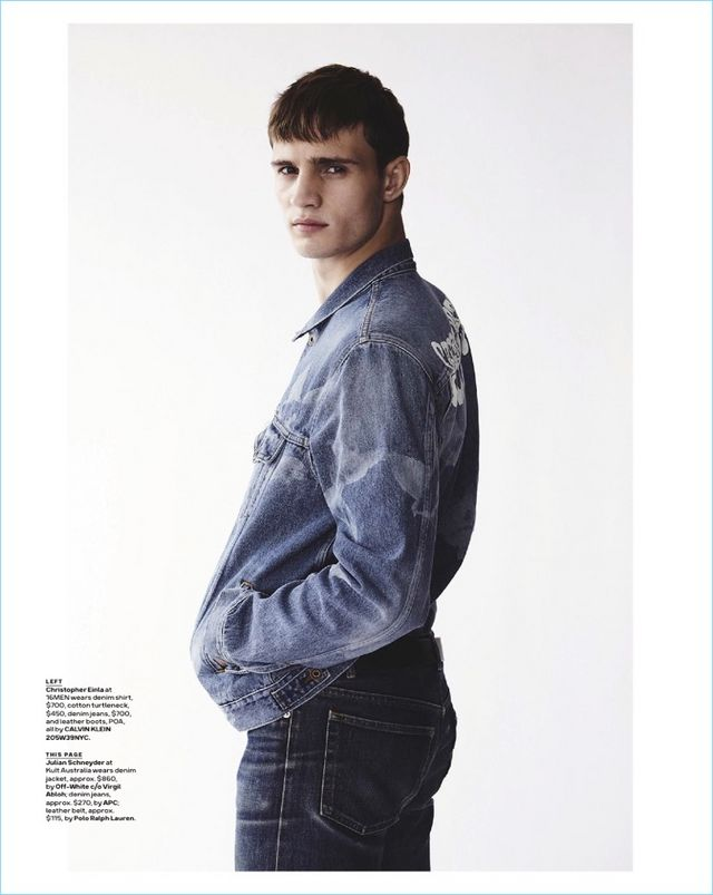 012ffc254d9b Good Jeans  Julian Schneyder + More Model Denim for GQ Australia ...