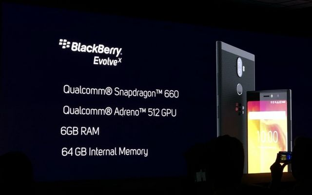 BlackBerry Evolve and BlackBerry Evolve X launched in India with