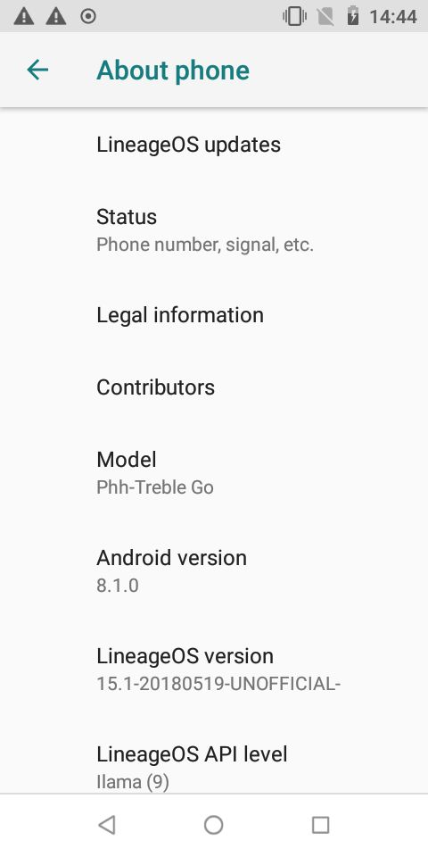Hands-on with LineageOS 15 1 on an Android Go device | xda