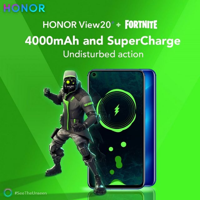 Honor View20 Owners Get Exclusive Fortnite Skin Xda Developers
