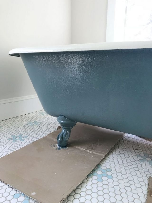 How To Refinish An Old Clawfoot Tub   Young House Love   Bloglovin\'