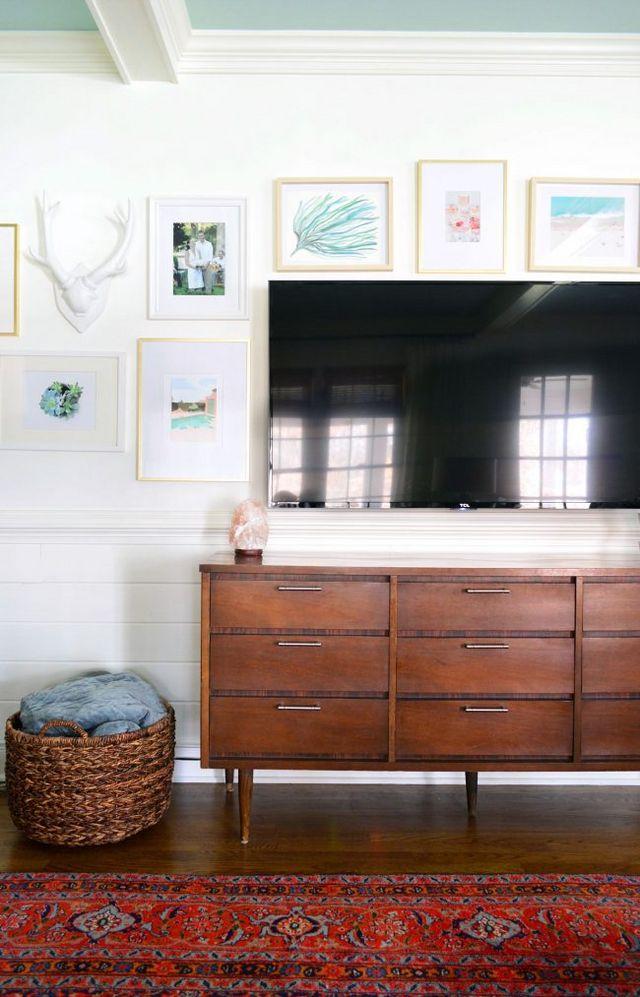 Berühmt Tv With Picture Frame Around It Galerie - Benutzerdefinierte ...
