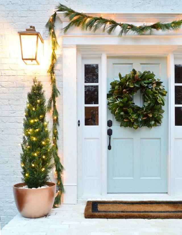 Candid 2018 New Led Light Wooden House Showcase Storage Shelf Christmas Tree Holiday Decoration Hanging Decor With Light Lamp Christmas