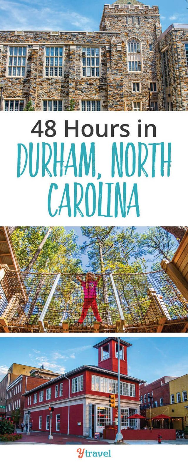48 Hour Itinerary – Best Things to Do in Durham, NC with Kids (or ...