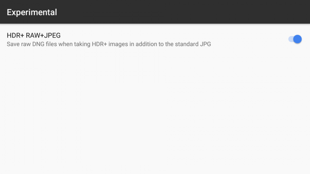 Google Camera HDR+ Port Updated with RAW Support, HDR Customization