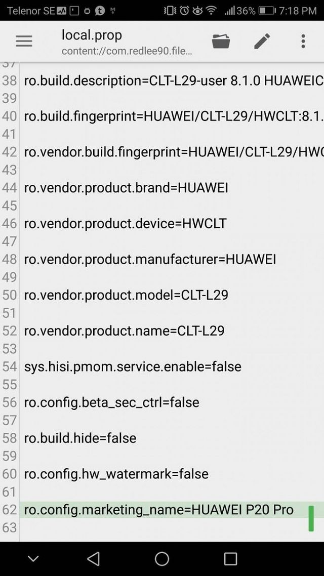 Huawei P20 Pro Firmware Files Leak, Confirms Android 8 1
