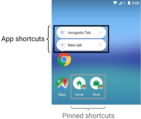 Chrome OS may support searching Android App Shortcuts in the