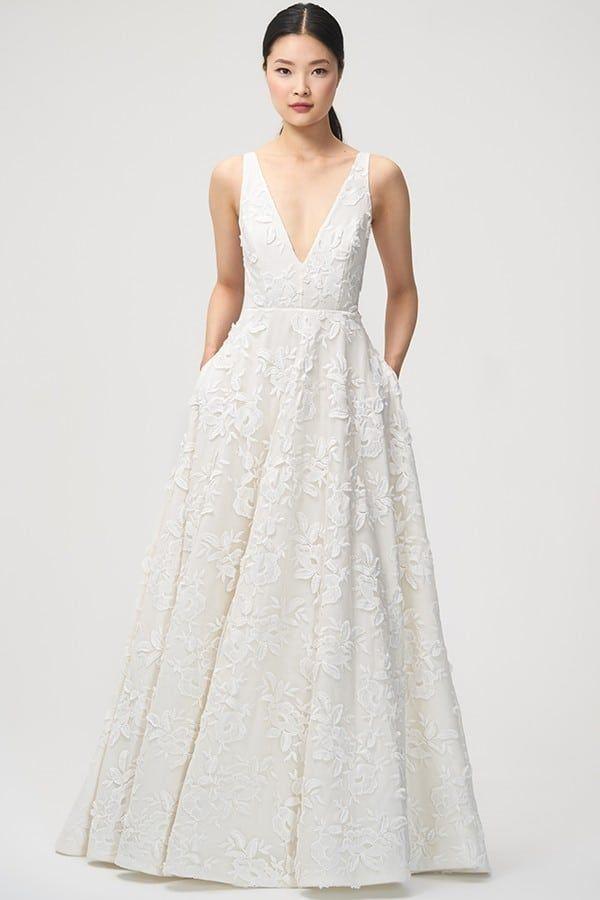 84e6fde3d86c 80+ Beach Wedding Dresses That Aren't Boring AF | A Practical ...