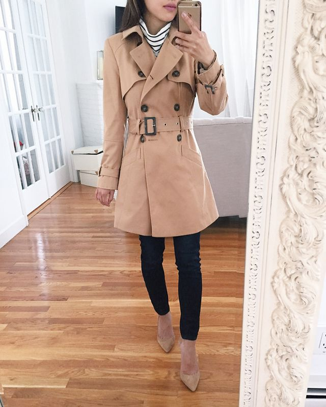 9ad491059c7 Classic Trench Coat Reviews  6 budget and petite-friendly options ...
