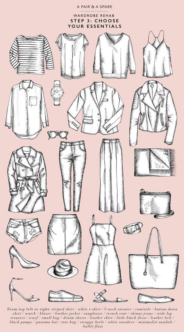 Wardrobe Rehab The Perfect Wardrobe Essentials: Wardrobe Rehab Step 3: Choosing Your Essentials