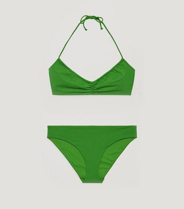 2136074fee Sometimes you just want something simple. Top and High-Cut Bikini Bottoms  ($25) available in sizes 4 to 12.