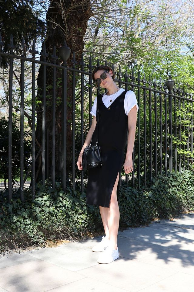 a0fe1e3fa7 Style Notes: Hannah is Clique's senior director in the UK and has the best  selection of monochrome pieces that she pulls together in so many different  ...