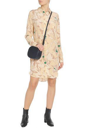 4b8b321526 Grace Floral Silk de Chine Shirt Dress was £250 now £125