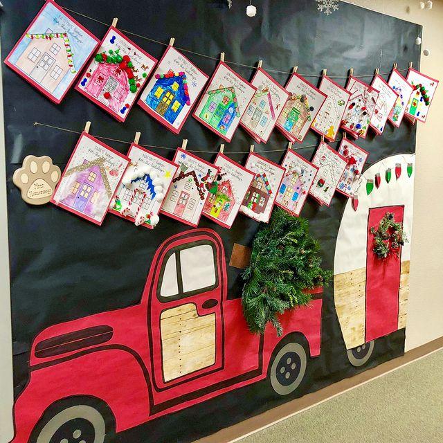 10 Winter Themed Bulletin Board Ideas Mrs Jump S Class Bloglovin