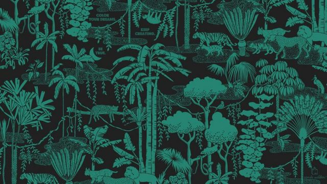 In 2017 We Decided To Focus Our Designer Desktop Series On Wallpaper Textile And Pattern Brands For A Whole Year This That Was Just