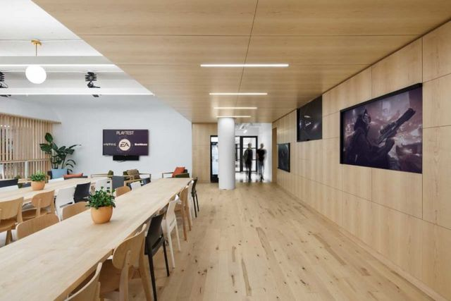 electronic arts gets a new office space in montréal designed by sid
