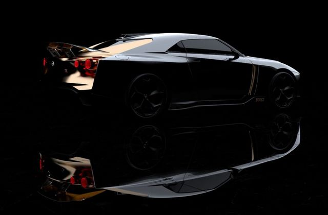 A Gilded Beast Nissan Gt R50 By Italdesign Design Milk Bloglovin