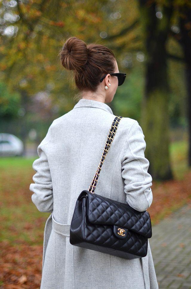 Outfit jsem doplnila milovanou flaop bag a drdolem. A nakonec - pokud Vám  blog baví a si myslíte 9062736dac