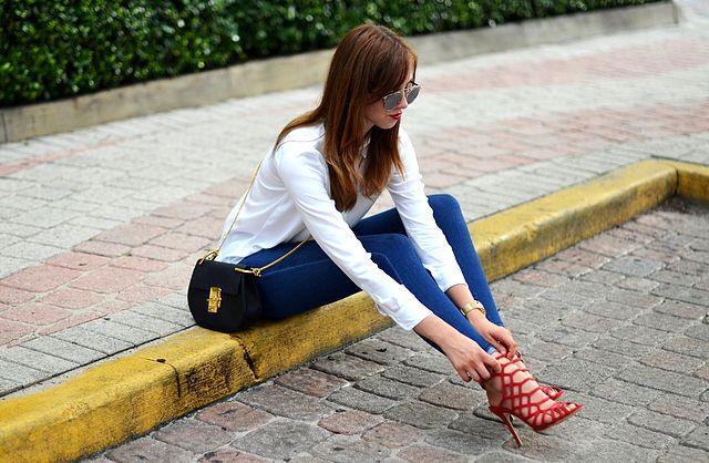 8dbc174ecc8 Samozřejmě bych nevyšla bez kabelky - tentokrát Chloe - a slunečních brýlí  - tentokrát Dior.