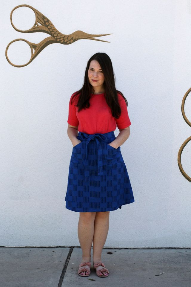 330ba7644c Poor Miette, this skirt seemed like it was never meant to be. Don't get me  wrong – the pattern is well drafted with good instructions but I faced a  few ...