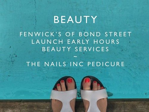 438bf7bbfff Beauty  Fenwick s of Bond Street launch early hours services ...