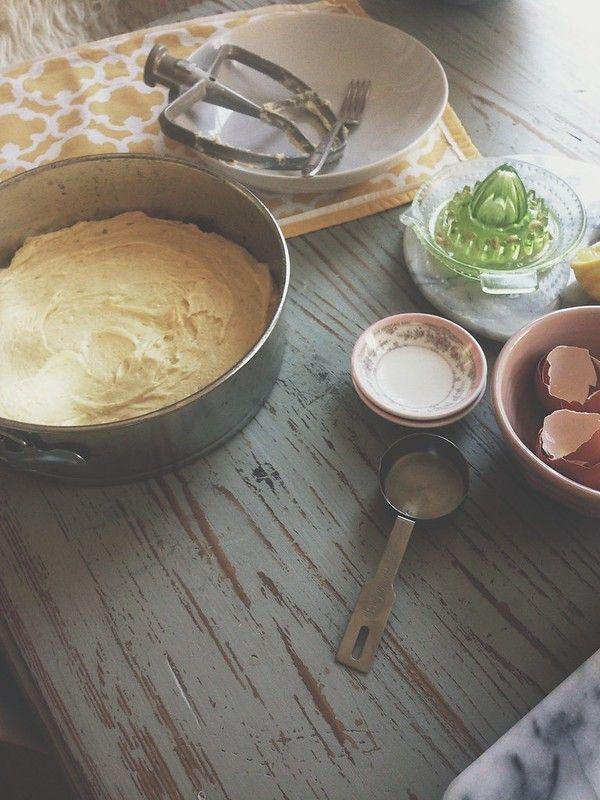 Lemon Pound Cake With Lemon Poppy Seed Buttercream Joy