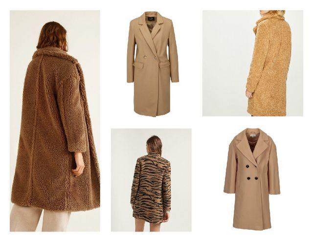 Mango kabát   béžový kabát ZOOT   kabát se vzorem zebry   kabát Vero Moda    béžový kabát s příměsí vlny e3b137e0a1