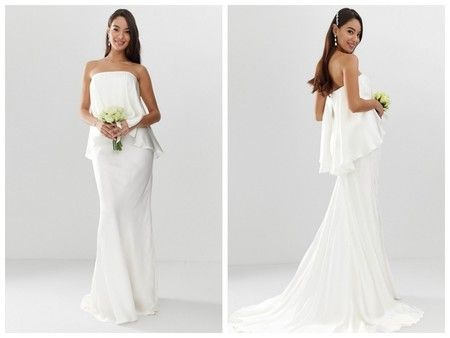 estos 21 vestidos de novia de asos son perfectos para tener una boda