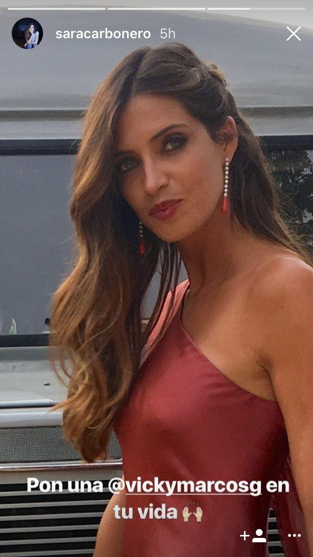 8ee24aee4f Sara Carbonero se va de boda y este ha sido su look de invitada ...