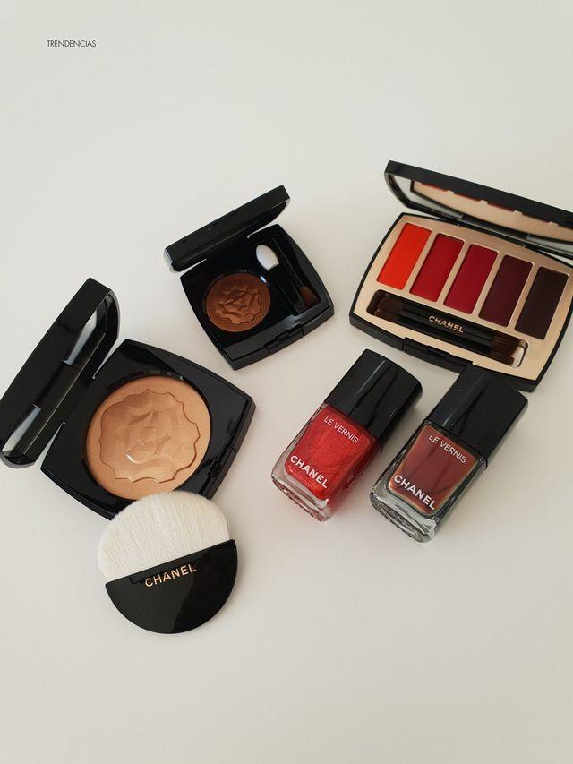 145c6c91e Hace unos días llegó a mis manos la última colección de maquillaje de Chanel  a la que han dado el nombre de Collection Libre y en la que encontramos  piezas ...