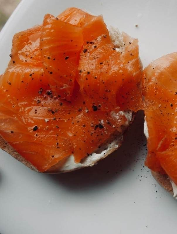 The Best Smoked Salmon Bagels At Panzer S Deli St John S