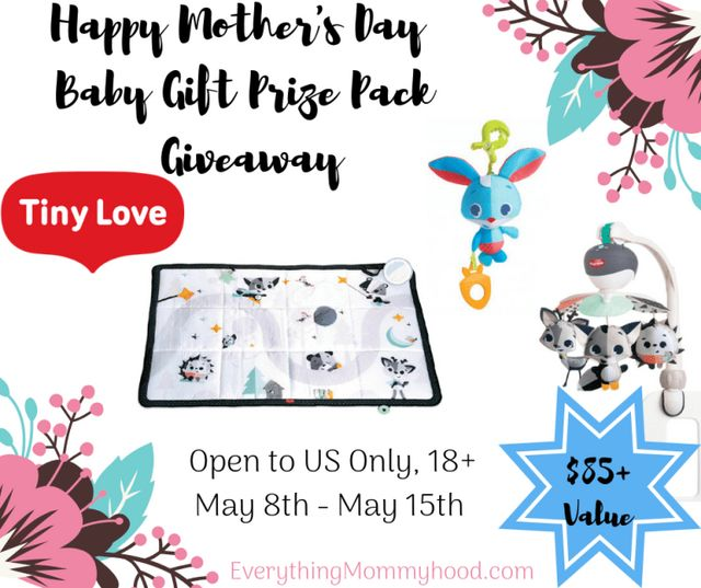 Mother's Day Tiny Love Baby Prize Pack Giveaway – ends 5/15