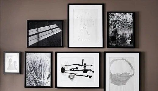 Hanging Picture Frames Accurately On The Wall A Ribba How To Ikea