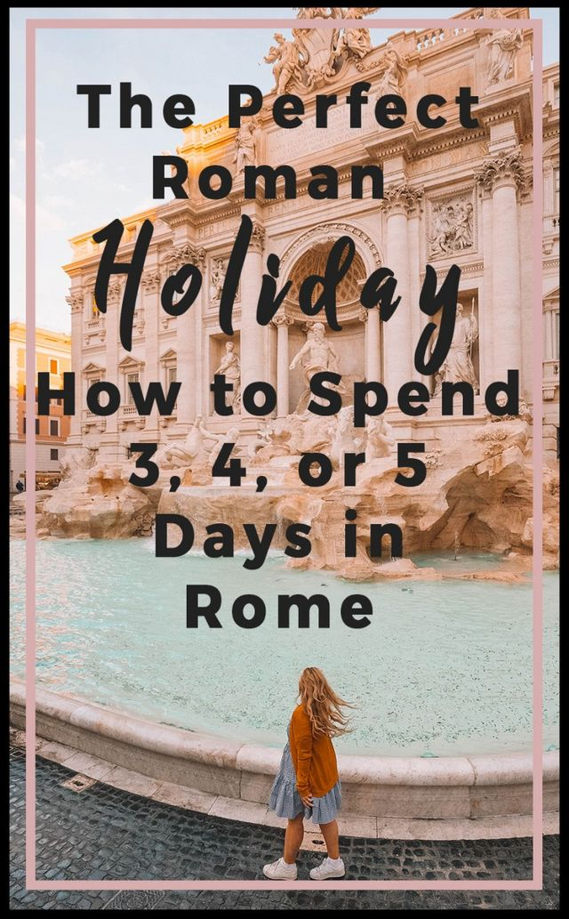 f47479d6491125 For a city with so much history it s easy to see why it s always busy. I ve  created your perfect Roman holiday whether you re looking for three