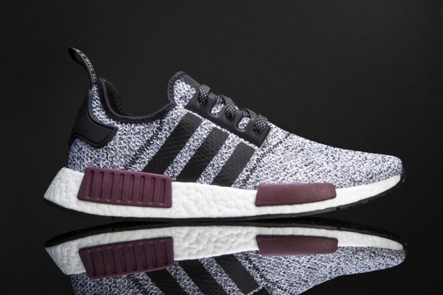 ecd38a371c618 This unprecedented NMD colorway dropped today as a Champs Sports exclusive.