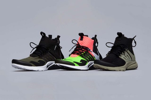 newest 285e3 d67d5 It was this past May when word first broke out on the striking ACRONYM x  NikeLab Air Presto Mid Collection. Since then, a slew of photos portraying  the ...