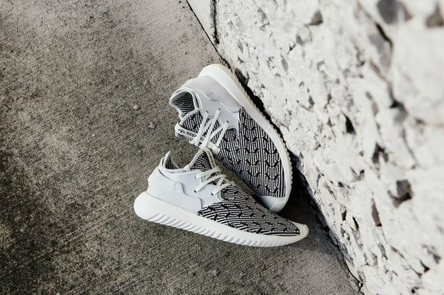 The adidas Tubular Entrap Comes Wrapped in a Bold Black and White Print 14e09bb3e