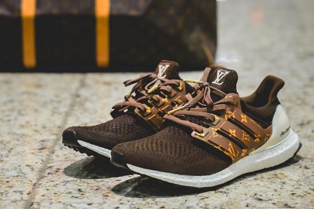 cfb1226ff20 The adidas UltraBOOST Gets Branded in Louis Vuitton by Dent Kicks ...