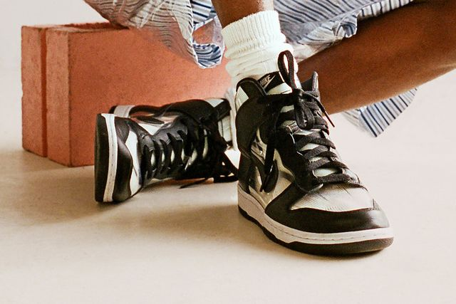 sports shoes 1c71a 4e93e Heres What the COMME des GARÇONS HOMME Plus x Nike Dunk High Will Cost You