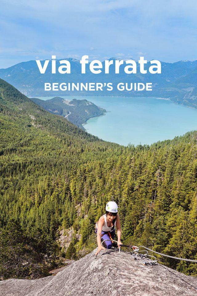 Easy beginners guide to via ferrata squamish via ferrata tips