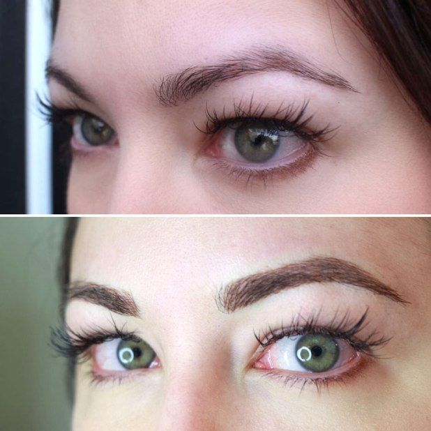 Microblading my brows here s what to expect my beauty for How is microblading different to tattooing
