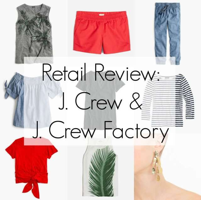 22019faada190 Shopping Hits and Misses  J. Crew and J. Crew Factory